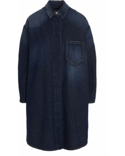 Sukienka - niebieska Mm6 Maison Margiela