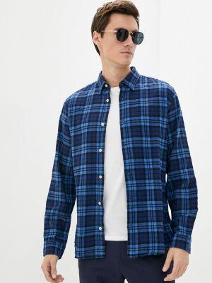 Синяя рубашка осенняя Produkt