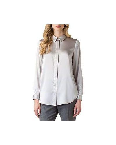 Серая блузка Luisa Spagnoli