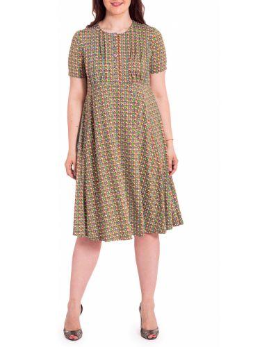 Летнее платье трикотажное яркое Lacywear