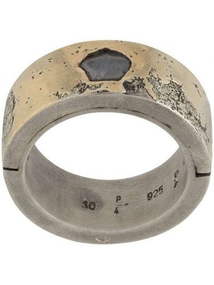 Серебряное кольцо с бриллиантом Parts Of Four