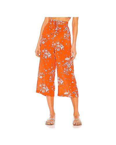 Укороченные брюки с карманами с поясом Maaji