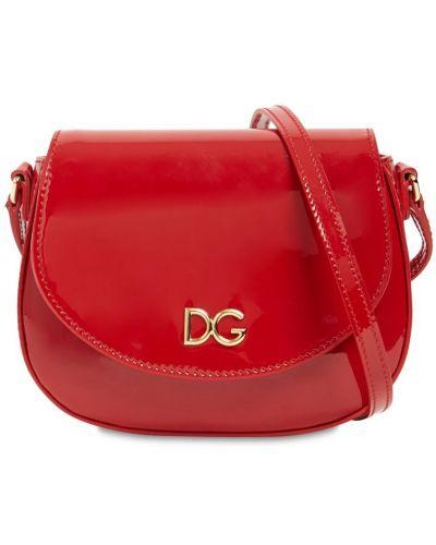 Z paskiem skórzany torba Dolce And Gabbana