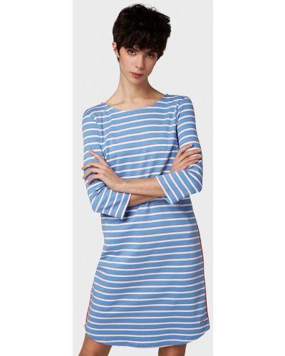 Джинсовое платье - голубое Tom Tailor Denim