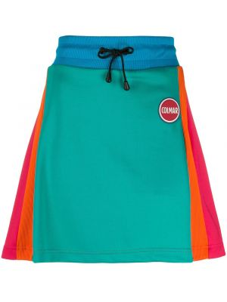 Плиссированная юбка мини с поясом Colmar
