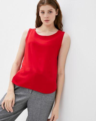 Свободный красный топ свободного кроя Samos Fashion Group
