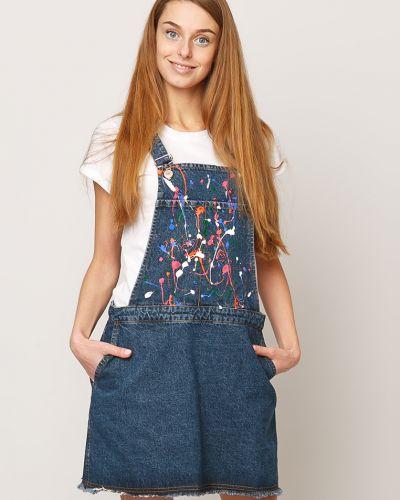 Синее джинсовое платье Dasti