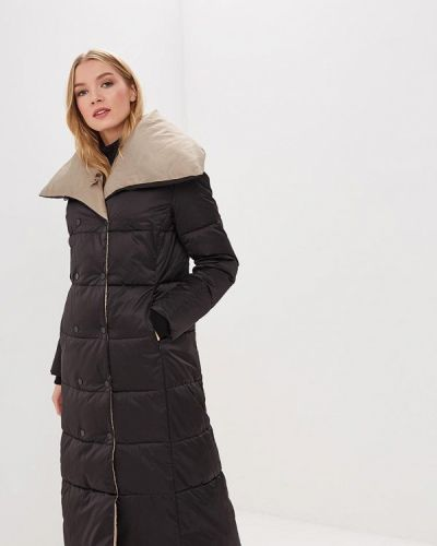Зимняя куртка утепленная черная Grishko