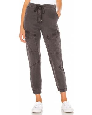 Czarne spodnie Yfb Clothing