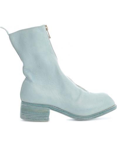 Niebieskie ankle boots Guidi