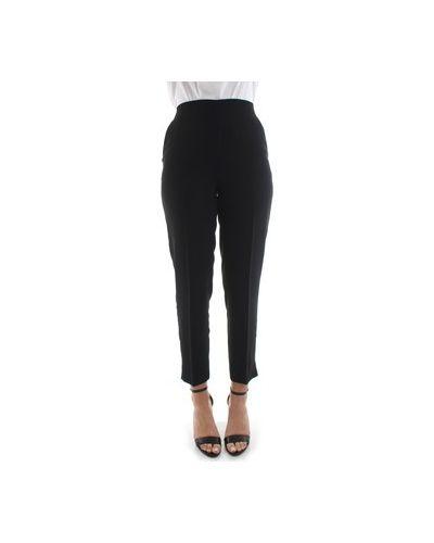 Czarny spodni spodnie Beatrice B