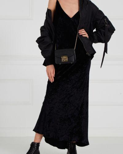 Бархатное вечернее платье - черное Alexander Terekhov
