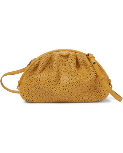 Kopertówka skórzana - żółta Alaã¯a