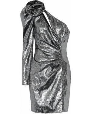 Платье мини с пайетками с завышенной талией Dundas