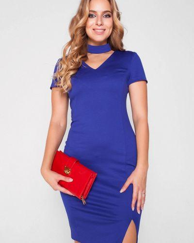 Синее платье весеннее Eliseeva Olesya