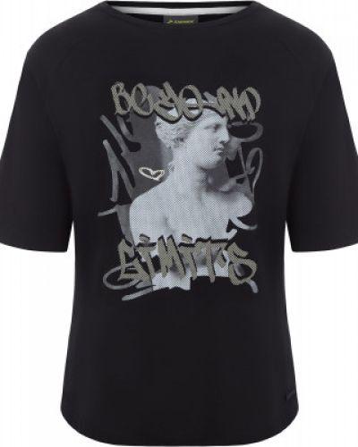 Спортивная футболка черная Demix