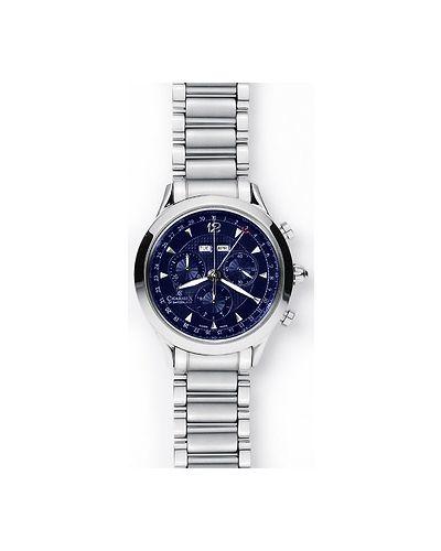 Часы швейцарские темно-синий синий Charmex