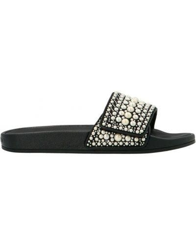 Sandały - czarne Jimmy Choo