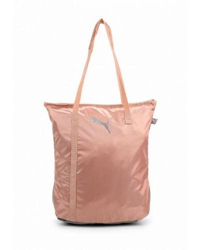 Розовая спортивная сумка Puma