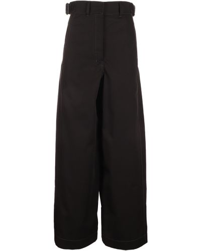 Spodnie - czarne Lemaire