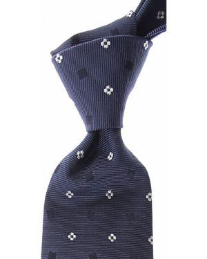 Krawat srebrny - czarny Barba Napoli