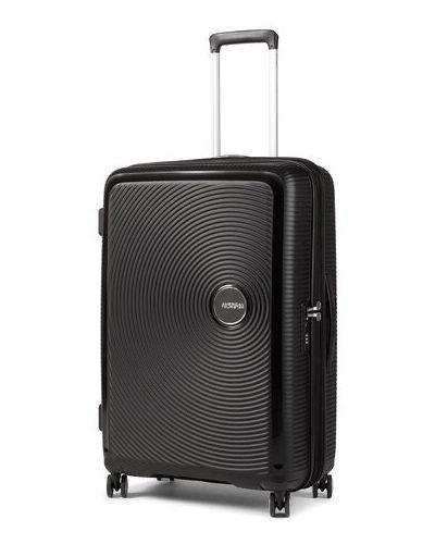 Czarna walizka duża American Tourister