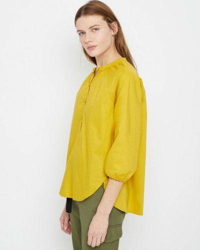 Блузка с длинным рукавом желтый весенний Lime