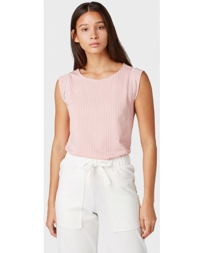Блузка без рукавов розовая Tom Tailor Denim