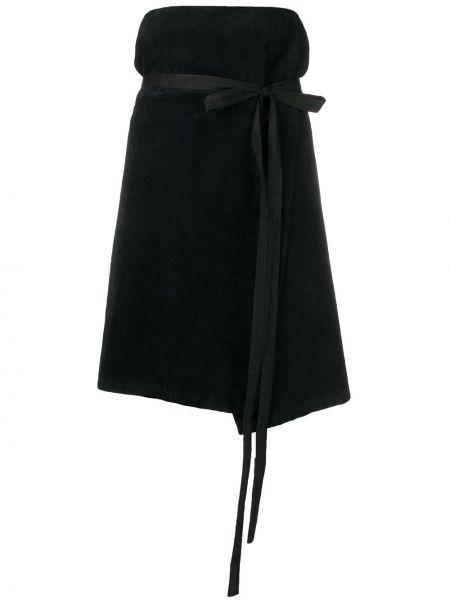 Черная юбка Kenzo Pre-owned