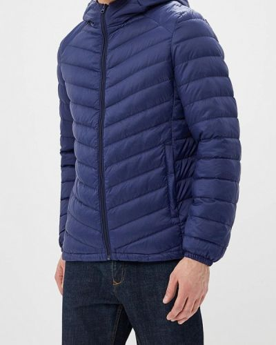 Зимняя куртка осенняя синяя Snowimage