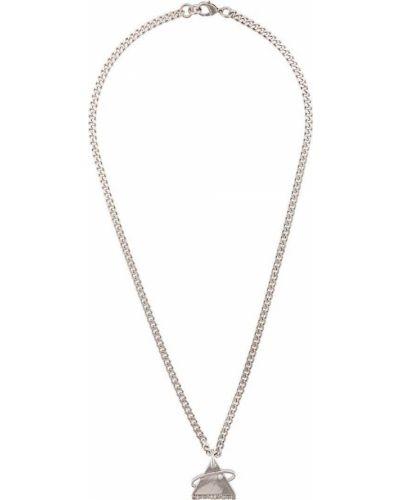 Ожерелье серебряный Off-white