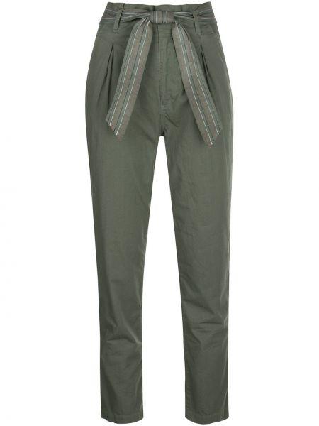 Укороченные брюки - зеленые Sundry