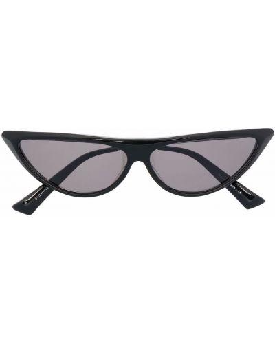 Czarne okulary srebrne Christian Roth