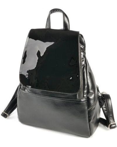 Кожаный рюкзак - черный No Brand