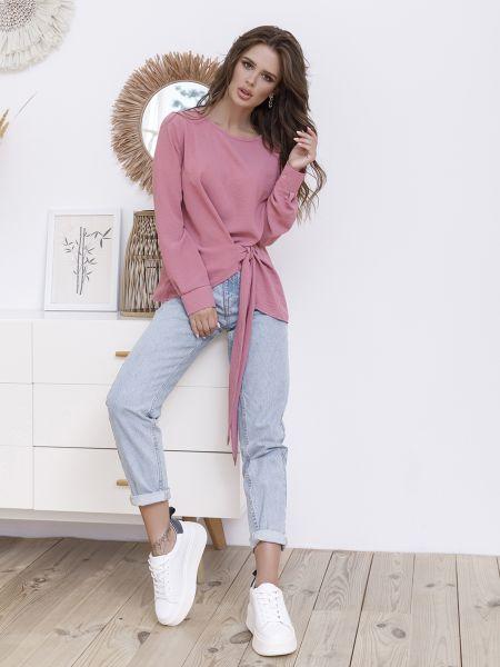 Повседневная розовая блузка Issa Plus
