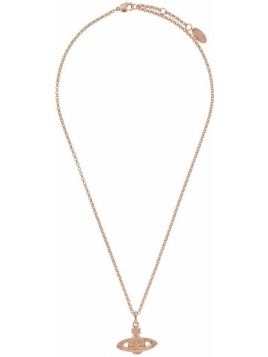 Ażurowy złoty naszyjnik Vivienne Westwood