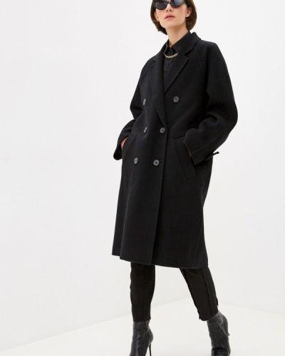 Черное пальто Barbara Bui
