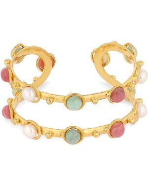 Złota bransoletka ze złota perły Sylvia Toledano