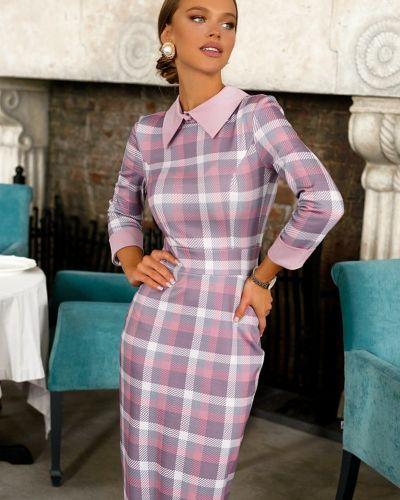 Теплое трикотажное модное платье Open-style