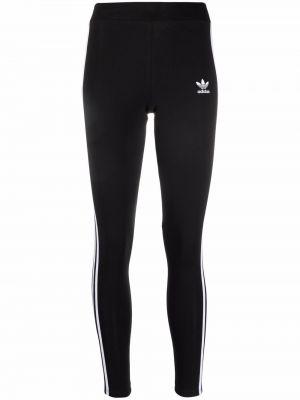 Czarne klasyczne spodnie Adidas