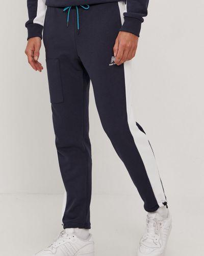 Spodnie bawełniane granatowe New Balance