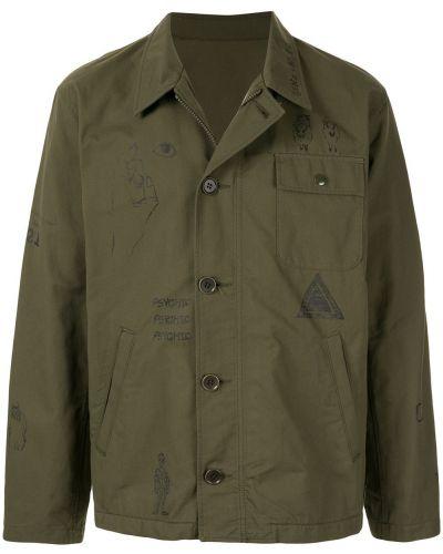 Рубашка с воротником хаки Johnundercover