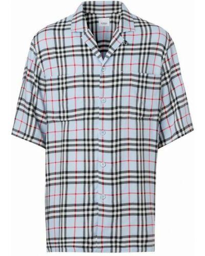 Koszula - niebieska Burberry