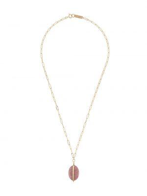 Różowy wisiorka ze złota Isabel Marant