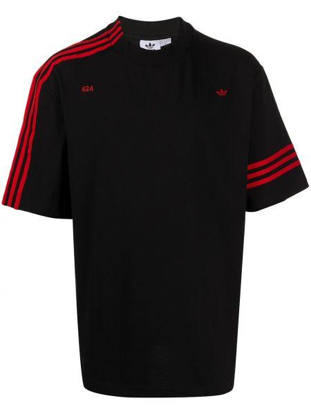 Koszula krótkie z krótkim rękawem czarna Adidas By 424