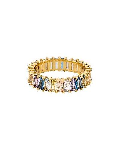Klasyczny złoty pierścionek pozłacany Baublebar