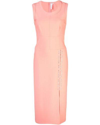 Приталенное платье миди - розовое Yigal AzrouËl