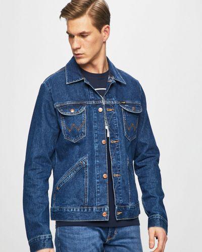 Джинсовая куртка легкая прямая Wrangler