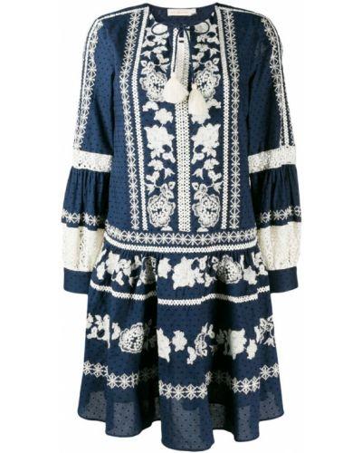 Платье в стиле бохо свободного кроя Tory Burch