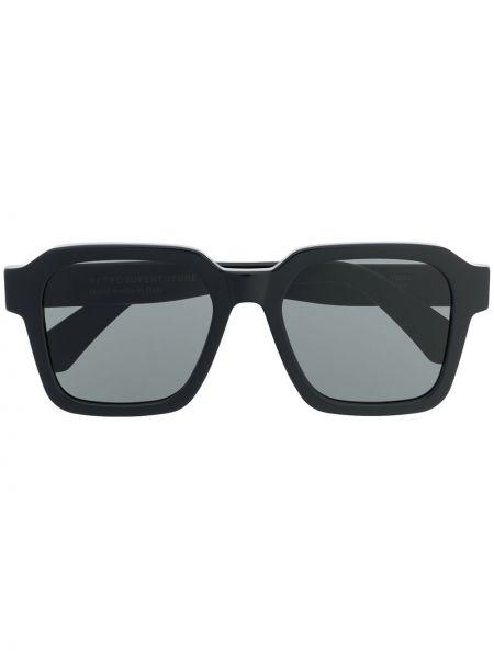 Темные солнцезащитные очки - черные Retrosuperfuture